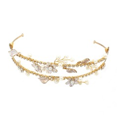 Vintage Alloy Tiaras (Sold in single piece)