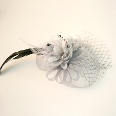 Ladies' Beautiful Feather/Net Yarn/Silk Flower Fascinators/Tea Party Hats