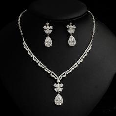 Elegante Diamantes de imitación/Circón Señoras' Sistemas de la joyería