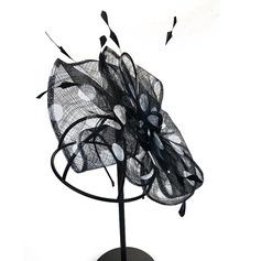 Dames Le plus chaud/Artistique Batiste avec Une fleur Chapeaux de type fascinator/Kentucky Derby Des Chapeaux
