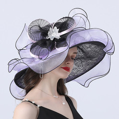 Ladies' Hottest/Romantic Organza Beach/Sun Hats/Tea Party Hats