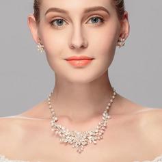 модное сплав/жемчуг женские Комплекты ювелирных изделий