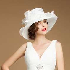 Ladies' Beautiful Organza Bowler/Cloche Hats/Kentucky Derby Hats/Tea Party Hats (196075361)