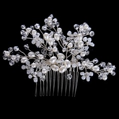 Ladies Fashion Crystal/Alloy Combs & Barrettes