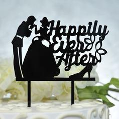 Søt Kjærlighet Akryl Kake Topper
