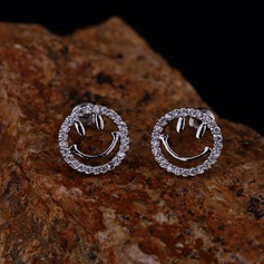 Lovely Zircon Ladies' Earrings