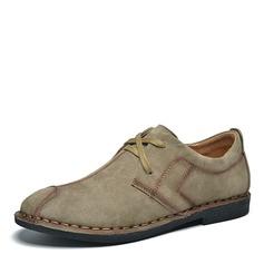 Мужская замша шнуровка вскользь Men's Loafers
