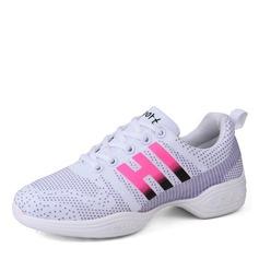 De mujer Malla Zapatillas Estilo Moderno Zapatillas Entrenamiento Zapatos de danza