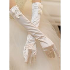 Stoff Opera Länge Braut Handschuhe