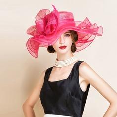 Damene ' Nydelig/Klassisk stil/Elegant Cambric Diskett Hatt
