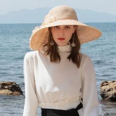 Senhoras Simples/Nice Papiro Chapéus praia / sol