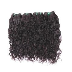 5A Virgin / remy Kinky Curly människohår Våg av människohår (Säljs i ett enda stycke) 100g