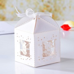 Angel Hollow-out Cuboid Favor Boxes (Set of 12)