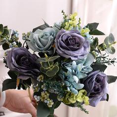 Elegante Forma livre Flores Artificiais Decorações -