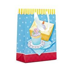 Clásico Cuboidea Bolsos de regalos con Cintas