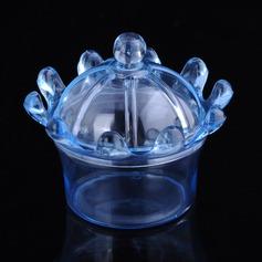 Créatif/Style Classique Autre Plastique Boites de faveur et conteneurs/Vases de bonbon et bouteilles (Lot de 12)