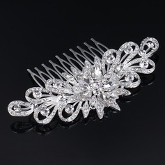 Ladies Glamourous Rhinestone/Alloy Combs & Barrettes (042123825)