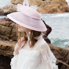 Damen Glamourös Batist Bowler/Kapotthut/Kentucky Derby Hüte/Tea Party Hüte