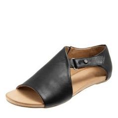 Dámské Koženka Placatý podpatek Sandály obuv