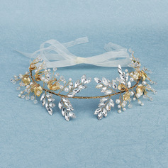 Beautiful Rhinestone/Imitation Pearls Hairpins With Venetian Pearl (Sold in single piece)