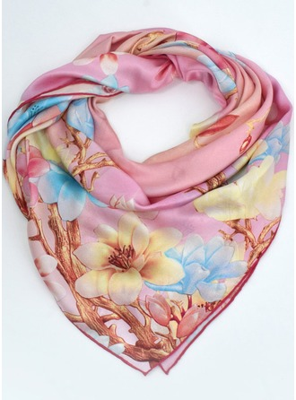 Blumen Quadrat Schal