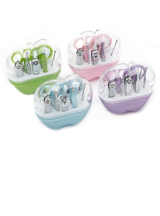 Lovely Apple Shaped Box Stainless Steel Manicure Kit