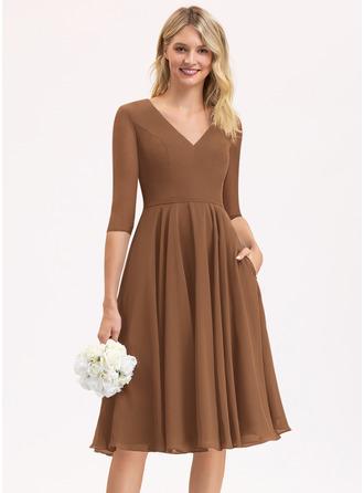 Chiffon Bridesmaid Dress