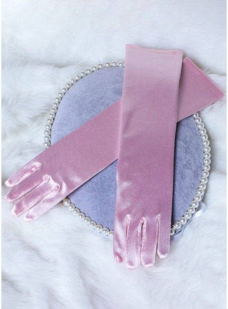 Knit Elbow Length Glove