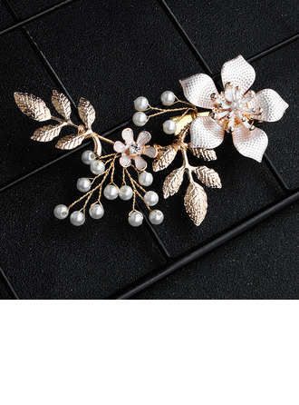 Ladies Alloy/Imitation Pearls Hairpins