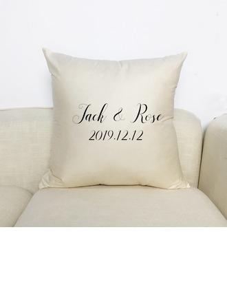 Bride Lahjat - Henkilökohtaista Solid Color Polyesteri Tyynyliina