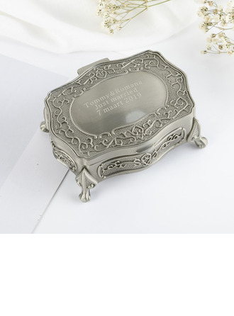 Bride Gaver - Personaliseret Classic Legering Smykkeskrin