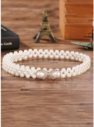 Gorgeous Imitation Pearls Belt