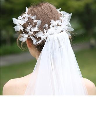 Damska Piękny Faux Pearl/Woal Grzebienie i Klamerki do Wlosów Z Weneckie Perły (Sprzedawane w jednym kawałku)