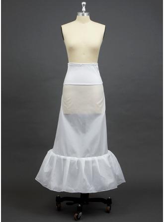 Women Polyester/Spandex Floor-length 1 Tiers Petticoats
