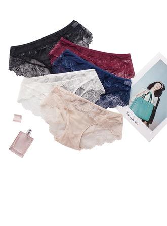 Feminine Low-key SilK Panties