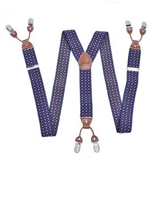 Personlig Modern Polka Dot Y Tillbaka Klipp På Justerbar Polyester Läder Traky
