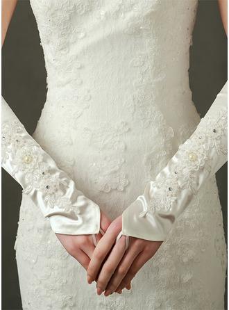 Tyl Elbow Længde Brude Handsker