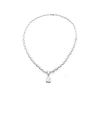 Signore Semplice rame/Placcato platino con Diamante Cilindrata zircone I monili Amici/Damigella d'onore