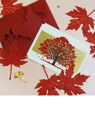 stile moderno/Stile Floreale Side Fold Biglietti d'auguri/Biglietti di Ringraziamento/Biglietti d'auguri