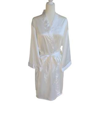 Personalized Polyester Bride Robe ( 20letters or less)