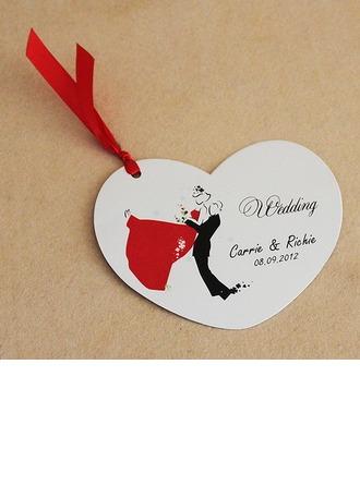 Personlig Bride & Groom stil Invitation Cards med Färgband (Sats om 10)