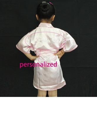 Personalized Nylon Bridal/Feminine Robe (20 letters or less)