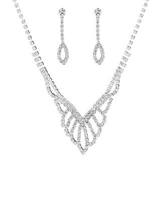 Señoras' Caliente Diamantes de imitación con Cojín Sistemas de la joyería