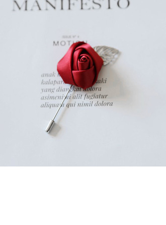 Eye-catching Cloth Boutonniere (Sold in a single piece) -