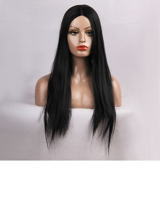 Straight Synthetic Hair Capless Wigs 220g