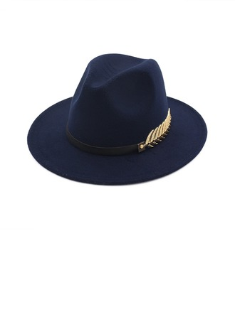 Unisexe Mode Feutre Chapeau Fedora
