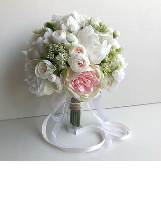 Kukkiva Pyöreä Morsiusneito Kukkakimppuihin -