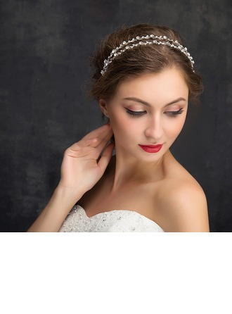Ladies Beautiful Rhinestone/Alloy Headbands