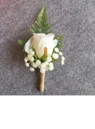 Stile classico Panno Fiore all'occhiello (venduto in un unico pezzo) -