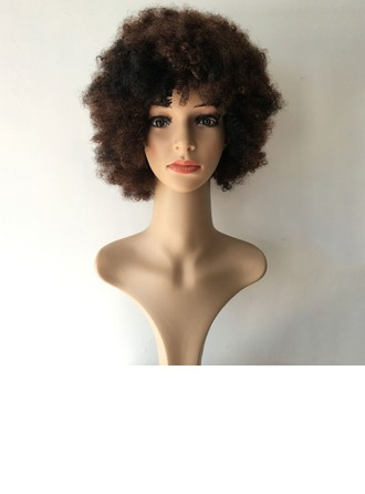 Kinky Curly Syntetiske Capless Parykker 220g
